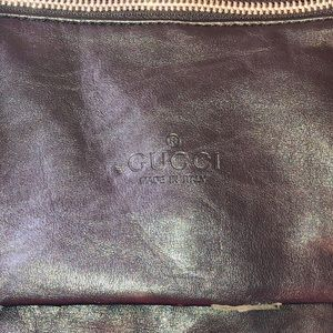 Handbags - Black handbag says Gucci